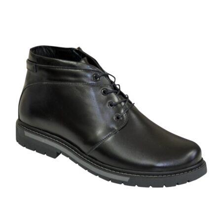 Ботинки кожаные мужские на шнуровке