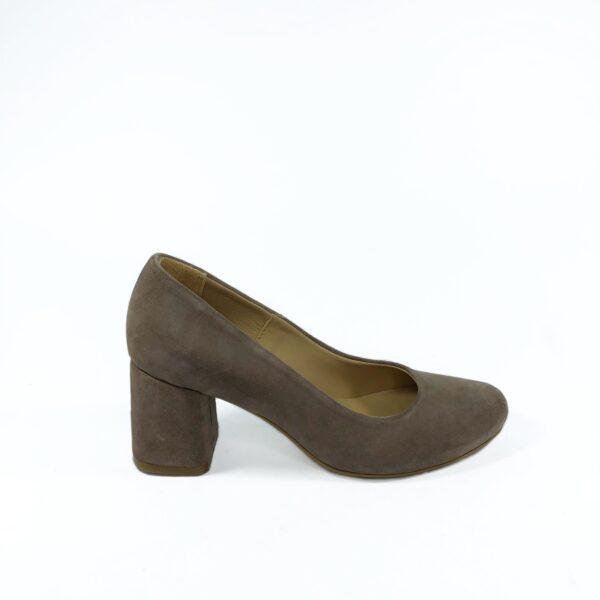 Туфли лодочки замшевые цвет пудра